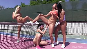 Tbo Lesbian Outdoor Girlfriends Groupsex Scene 4