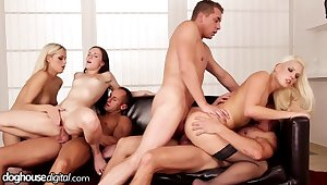 Hardcore orgy there Kristy Black, Blanche Bradburry and other hot girls