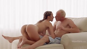 WOWGIRLS, Domineer Wet Joanna Lets the Guy Fuck Her As He Wants