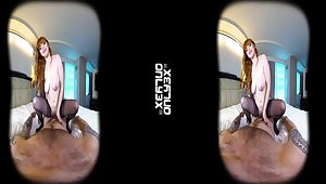 Homemade VR porn video with dear redhead babe Penny Pax