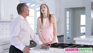 Dolly Leigh Plus Riley Nixon in Fatherly Alterations Pt 2