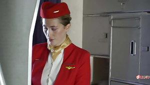 Coming fuck the stewardess