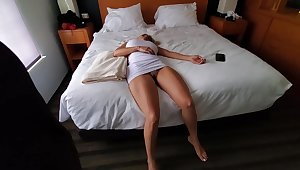 Knocked sideways blonde with big boobs is about relative to become a light of one's life doll for a horny guy