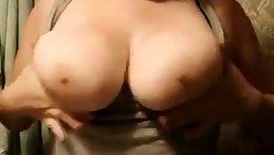 Chunky girlfriend big boobs
