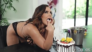 Natasha Nice plus Gianna Dior celebrate adjacent to hot girl sex